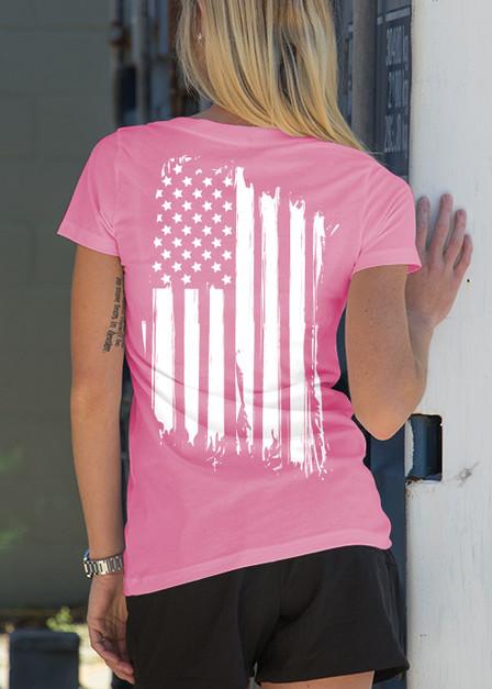 Women's V-Neck - America