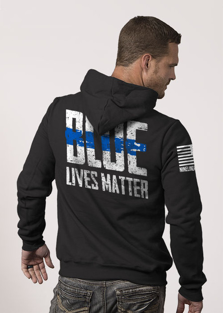 Hoodie - Blue Lives Matter