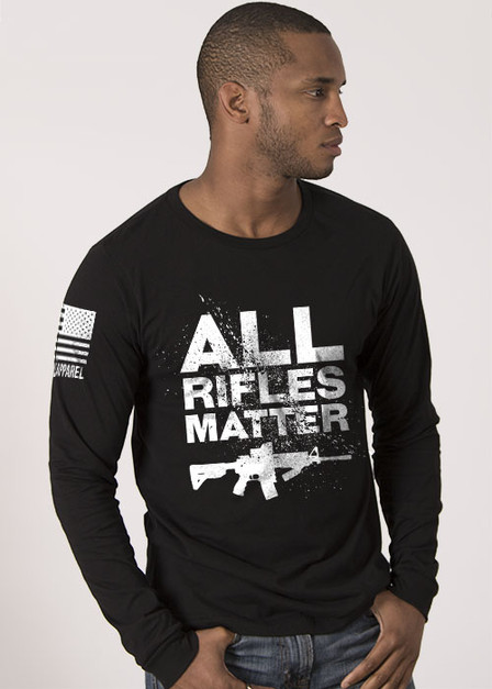 All Rifles Matter - Mens Long Sleeve