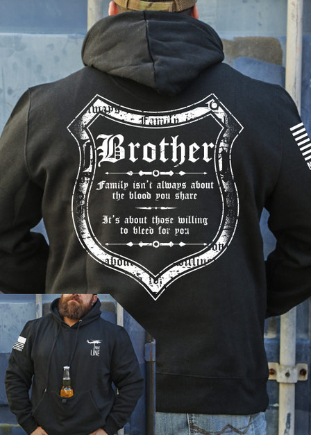 Tailgater Stout Hoodie - Blood and Family