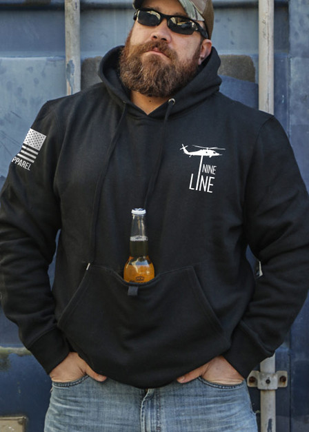 Tailgater Stout Hoodie - Drop Line