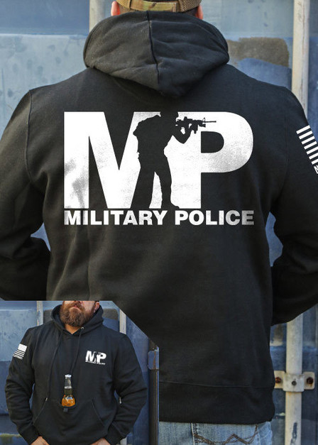 Tailgater Stout Hoodie - Military Police