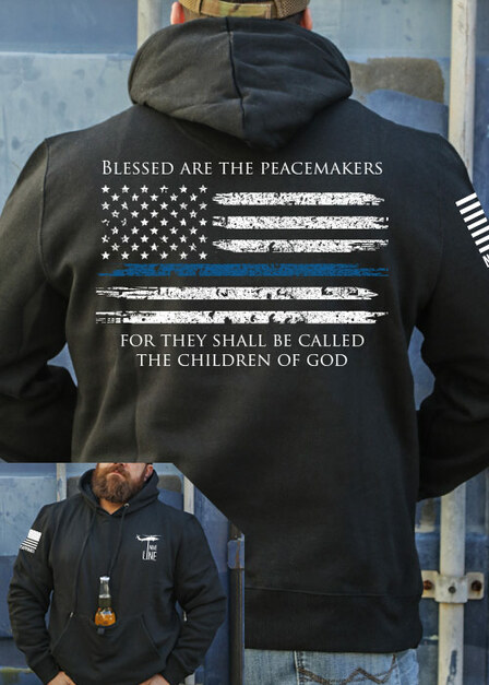 Tailgater Stout Hoodie - Thin Blue Line