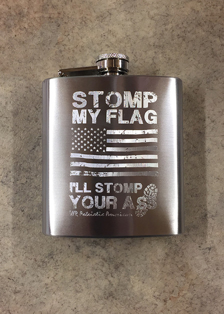 Flask - Stomp Your Ass