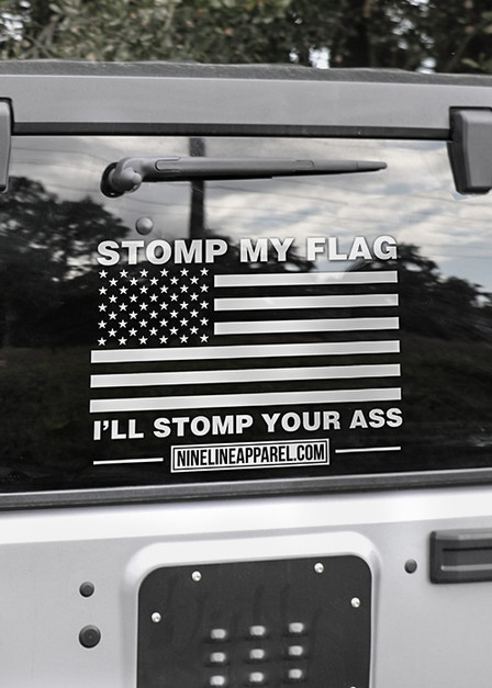 Vinyl Decal - Stomp