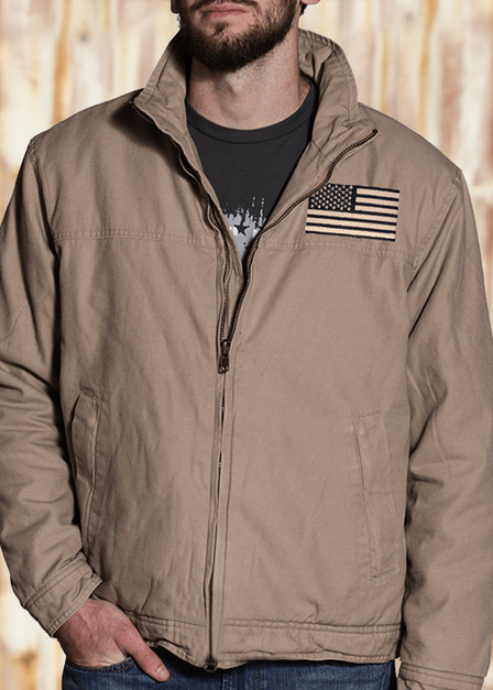 3 Season Concealed Carry Jacket - Flag