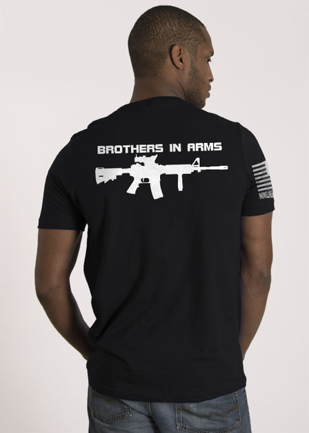 Brothers in Arms Drop Line/Rifle - T-Shirt