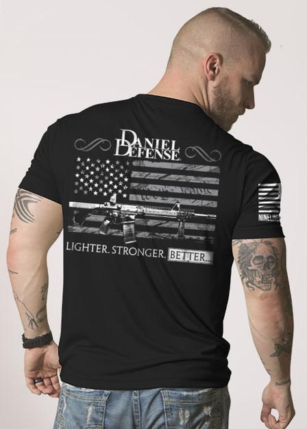 Moisture Wicking T-Shirt - Daniel Defense Old Glory