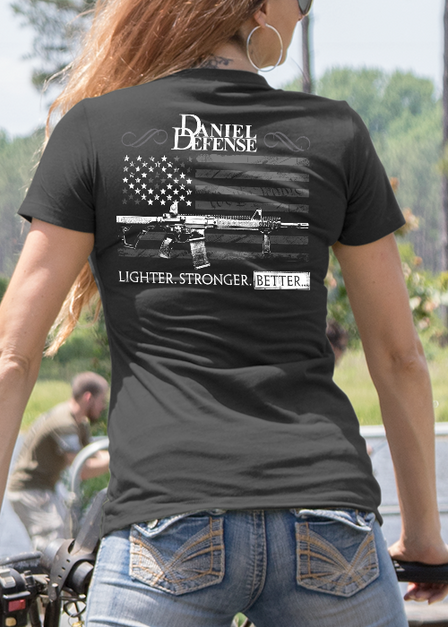 Womens T-Shirt - Daniel Defense Old Glory