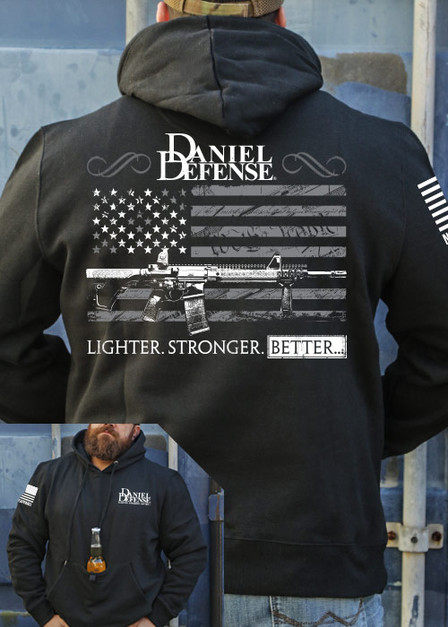 Tailgater Stout Hoodie - Daniel Defense Old Glory