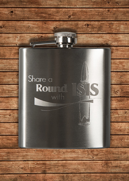 Flask - Share a Round with Isis
