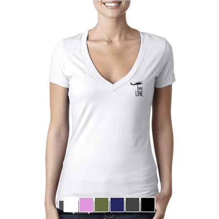 Drop Line - V-Neck - Ladies