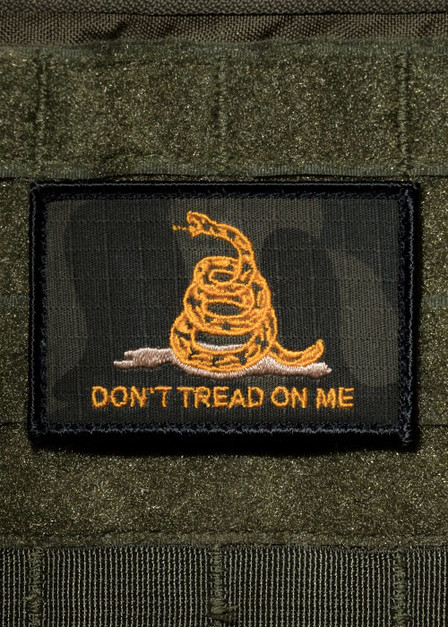 Dark Dont Tread on Me Patch