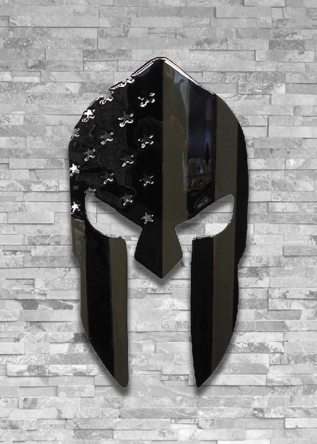 Molten Metal Sign - Spartan Subdued