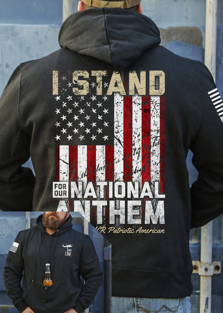 Tailgater Stout Hoodie - I Stand