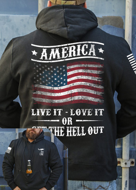 Tailgater Stout Hoodie - Get The Hell Out