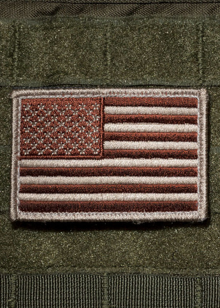 USA Flag Subdued Patch