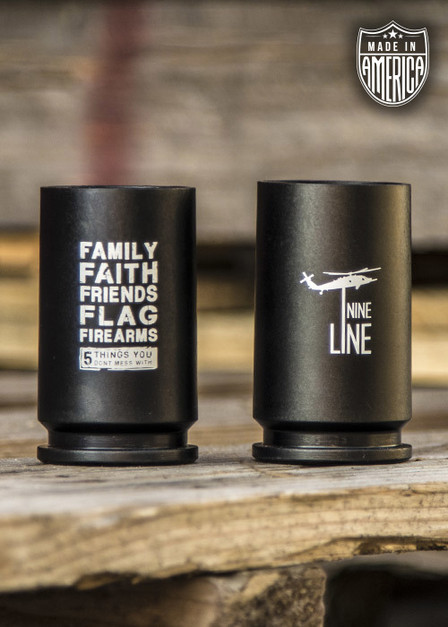 American Made 30mm A-10 Shot Glass - Two Pack
