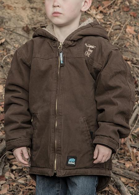 Youth Bark Jacket - Drop Line
