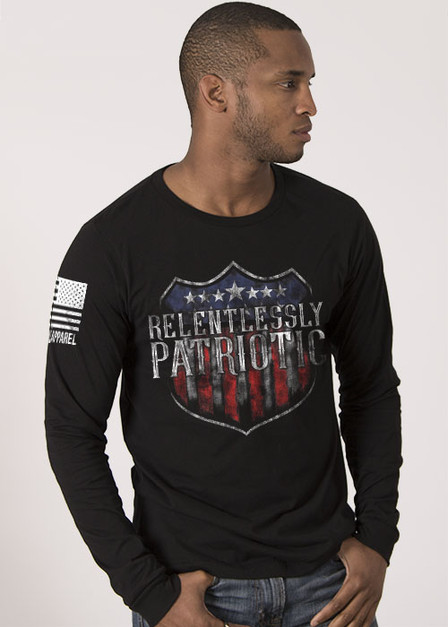 Men's Long Sleeve - Relentlessly Patriotic