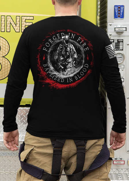 Men's Long Sleeve - Forged in Fire