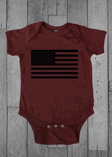 American Flag - Onesie