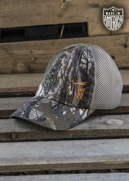 Realtree American Made Mesh Back Hat with Drop Line