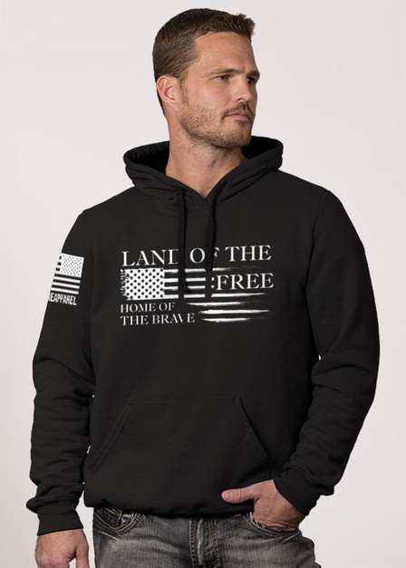 Hoodie - Home of the Brave Collection