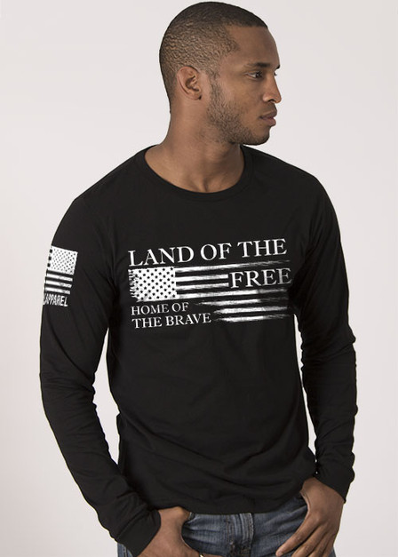 Men's Long Sleeve - Home of the Brave Collection