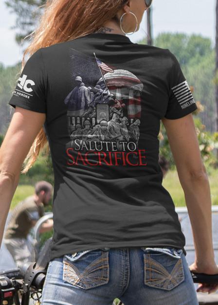 Women's T-Shirt - Salute to Sacrifice