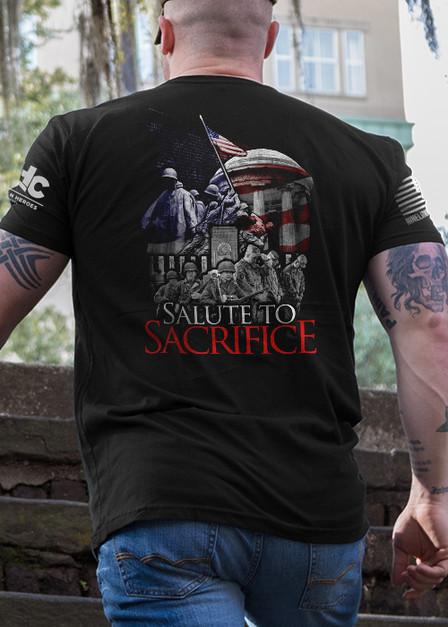 Men's T-Shirt - Salute to Sacrifice