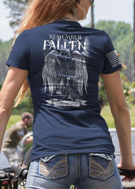 Women's T-Shirt - Remember the Fallen Version 2