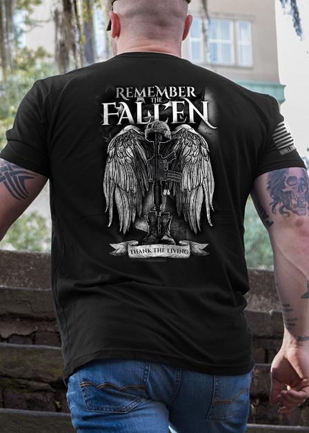 Men's T-Shirt - Remember the Fallen Version 2
