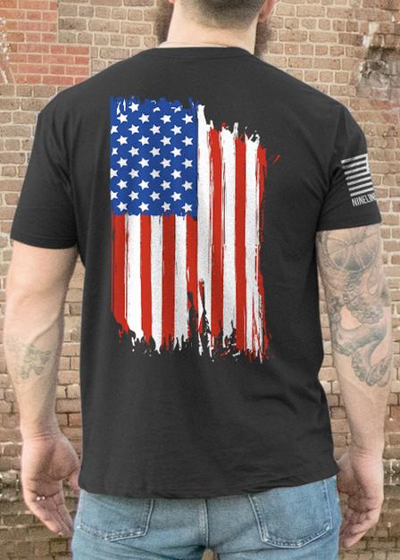 Men's T-Shirt - American Flag