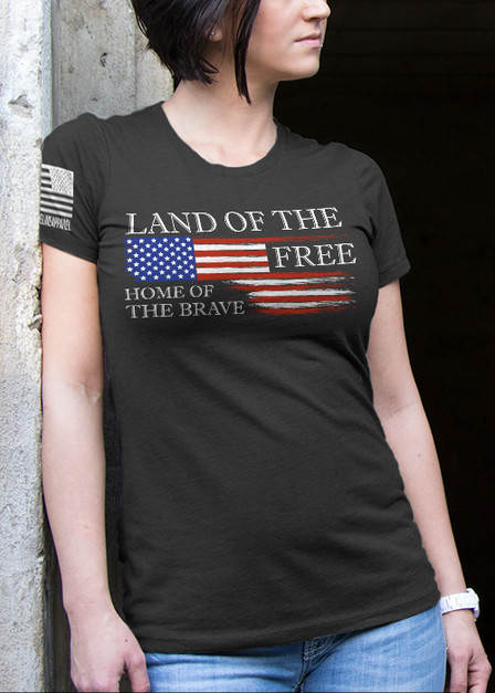 Women's T-Shirt - Land of the Free