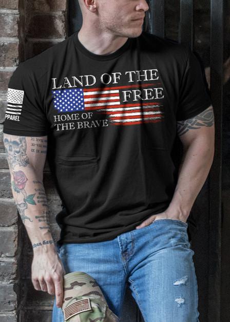 Men's T-Shirt - Land of the Free