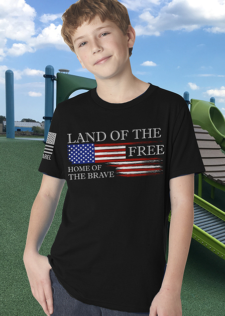 Youth T-shirt - Land of the Free