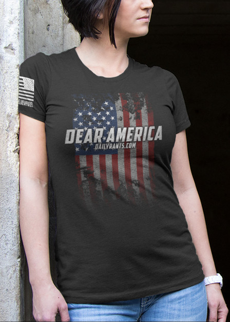 Women's T-Shirt - Dear America