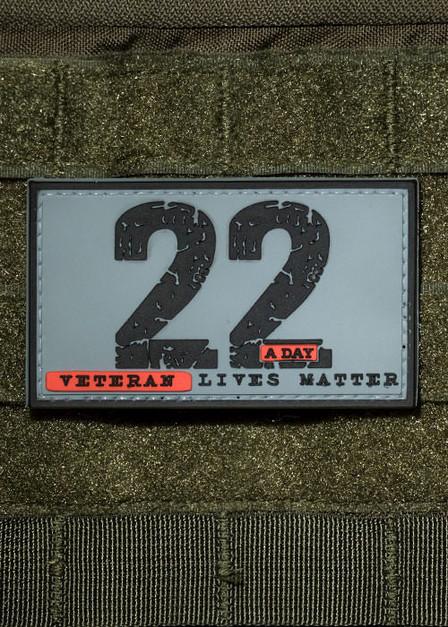 22 A Day PVC Patch