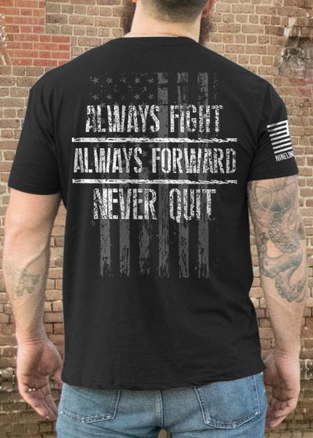 Men's T-Shirt - Always Fight