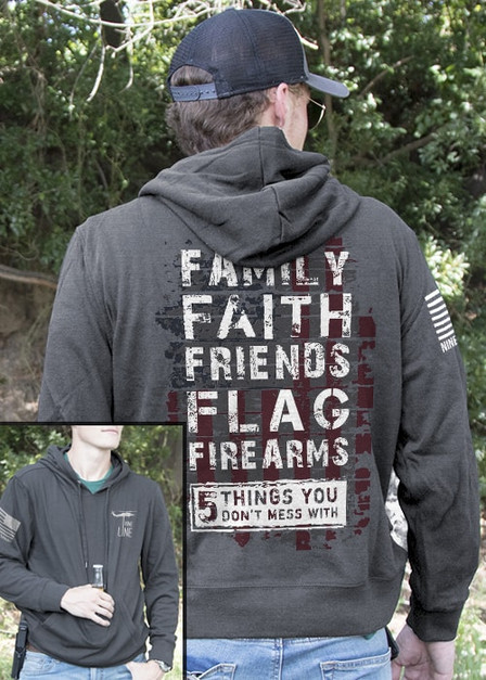 Light Weight Tailgater Hoodie - 5 Things