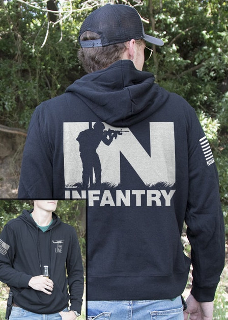 Light Weight Tailgater Hoodie - Infantry