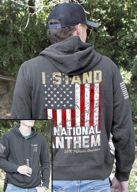 Light Weight Tailgater Hoodie - I Stand