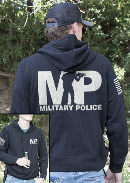 Light Weight Tailgater Hoodie - Military Police