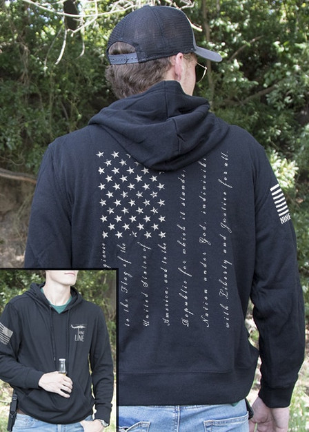 Light Weight Tailgater Hoodie - The Pledge