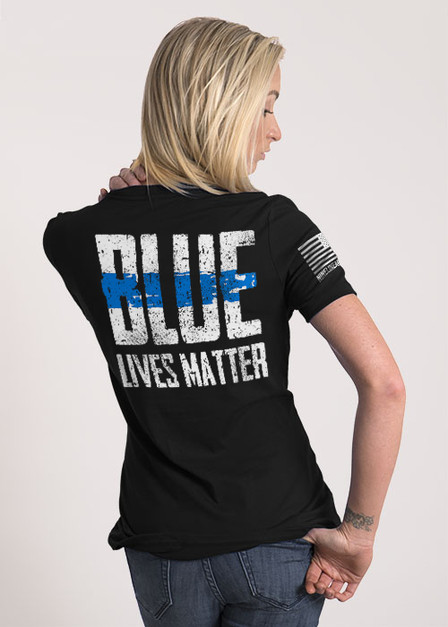 Women's Relaxed Fit T-Shirt - Blue Lives Matter
