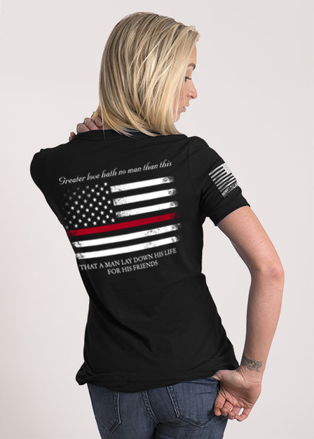 Women's Relaxed Fit T-Shirt - Thin Red Line