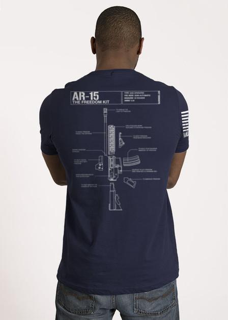 Men's T-Shirt - Schematic
