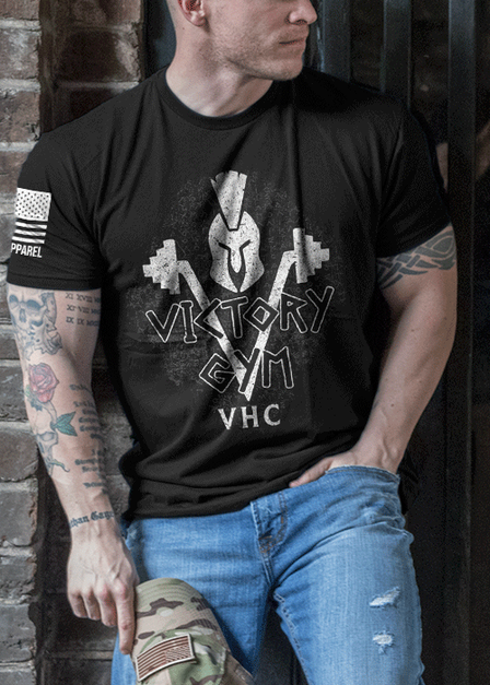 Men's T-Shirt - Victory Gym