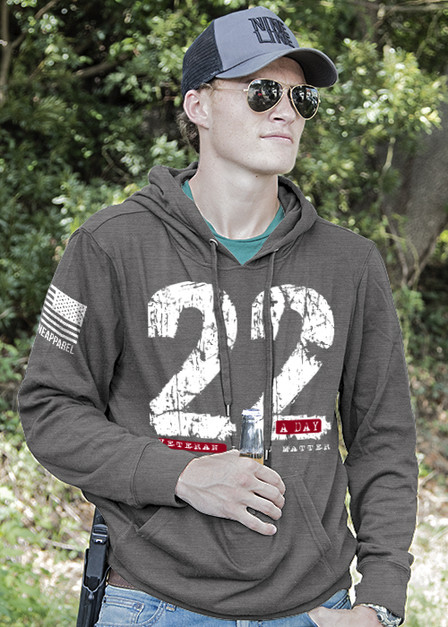 Light Weight Tailgater Hoodie - 22 a Day